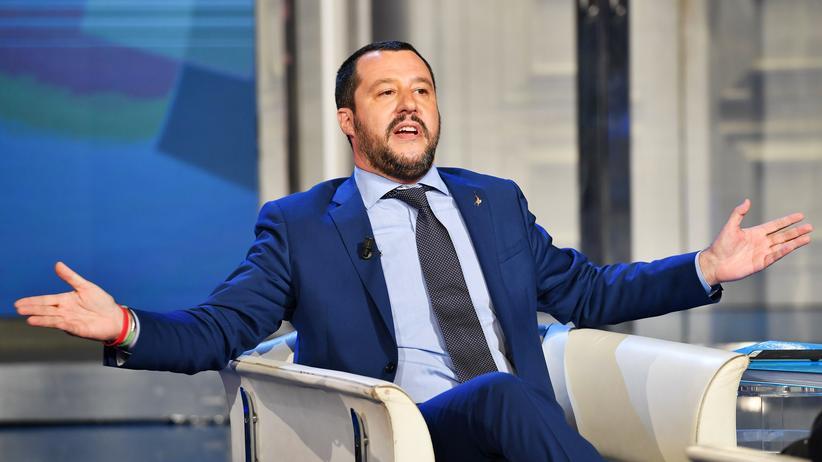 """Matteo Salvini: """"Wir können keinen Einzigen mehr aufnehmen"""""""