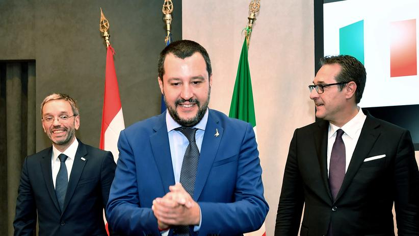Migration: Salvini fordert Spanien zur Aufnahme von vier Flüchtlingsschiffen auf
