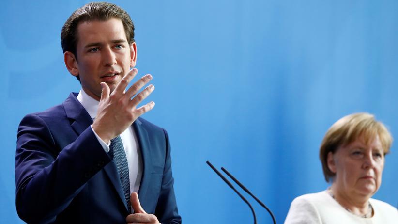 Österreich: Sebastian Kurz will EU-Vorsitz zum Grenzausbau nutzen