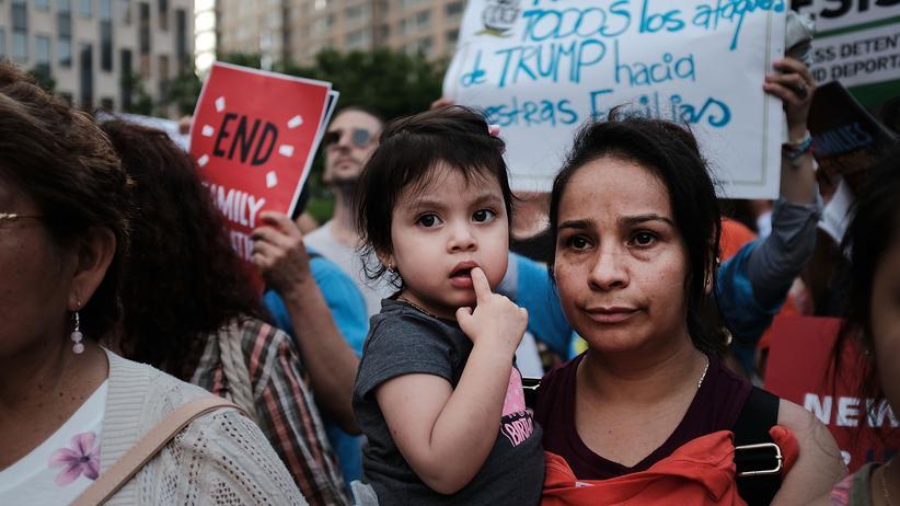 US-Einwanderungspolitik: UN verurteilt Trennung von Migrantenfamilien