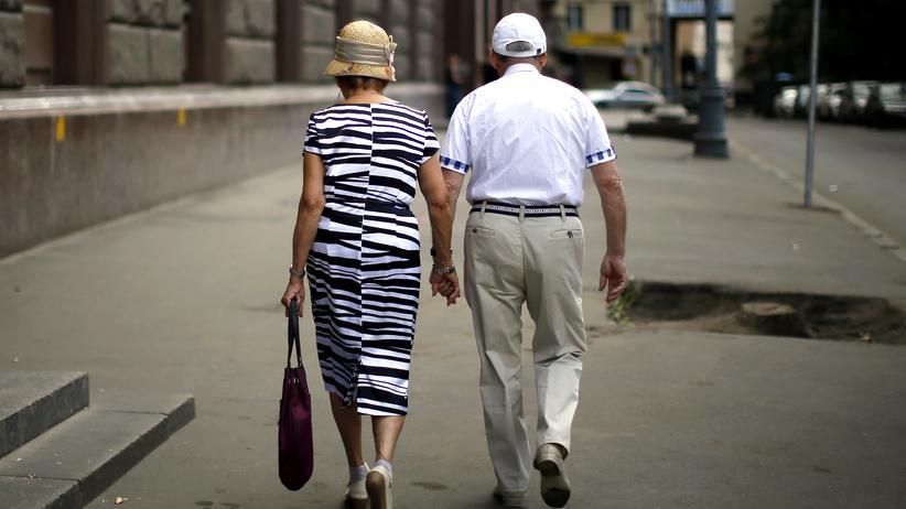Russland: Senioren in Moskau