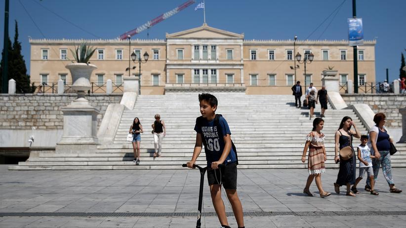 Schuldenkrise: Bundestag stimmt letzten Finanzhilfen für Griechenland zu