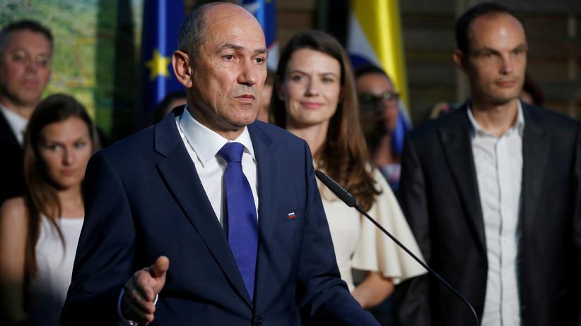 Slowenien: Migrantenfeindliche Partei gewinnt Wahl in Slowenien