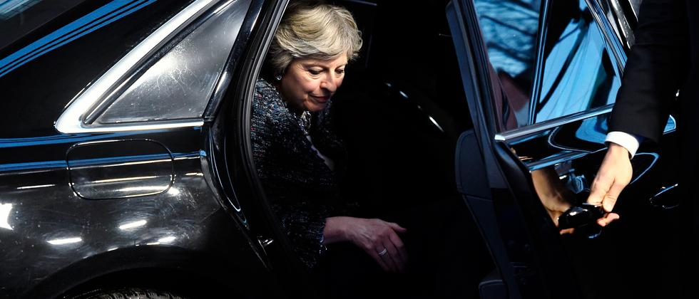 Brexit: Geheimnisträgerin Theresa May