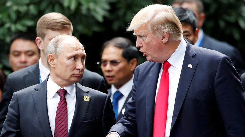 Russland: Trump will mit Putin über Wahleinmischung sprechen
