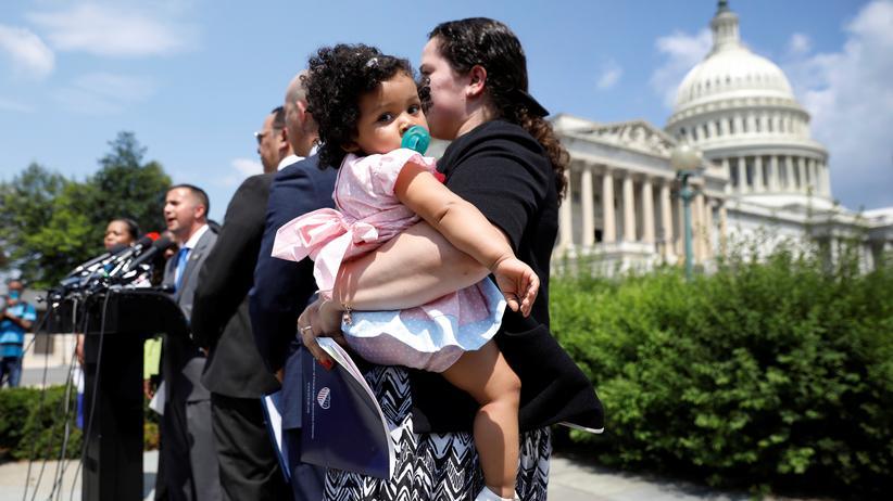 USA: Trump gibt Familientrennung an Grenze wieder auf