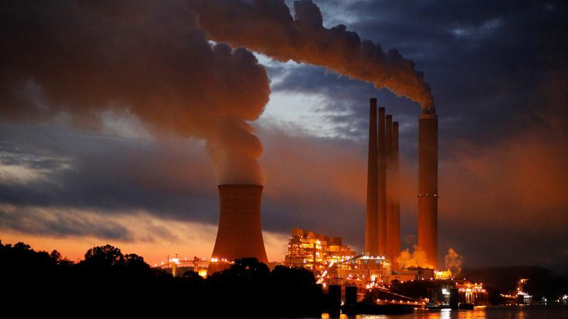 Energiepolitik: Das Dayton-Kohlekraftwerk am Ohio River in Aberdeen sollte 2018 eigentlich abgeschaltet werden.