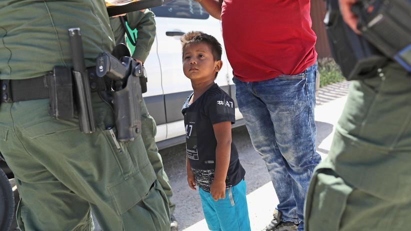 USA Migranten Kinder