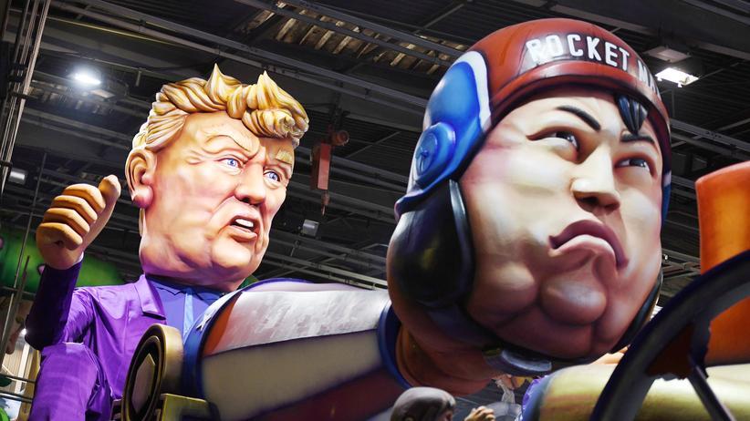 USA und Nordkorea: Trumps und Kims explosive Fernbeziehung