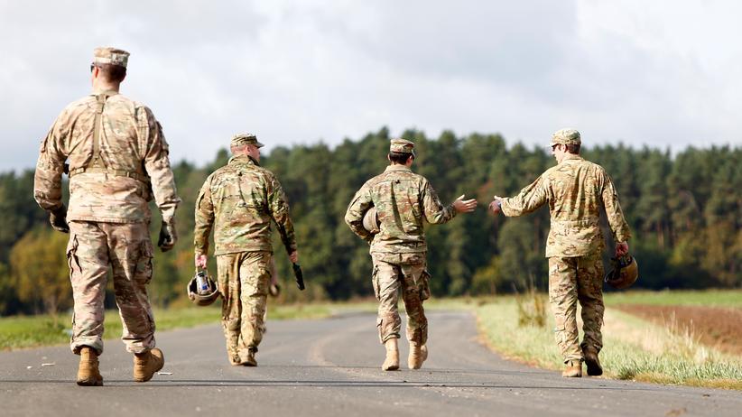 Nato: US-Soldaten bei einer Übung in der Oberpfalz