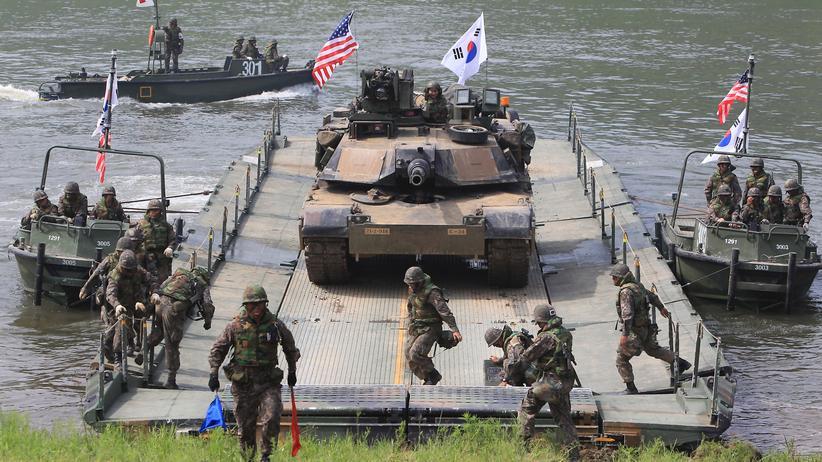 Korea-Konflikt: USA wollen Truppen in Südkorea lassen