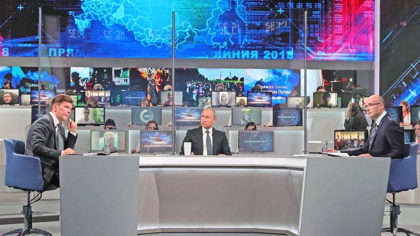 Moskau: Putin versteht US-Zölle als Sanktionen