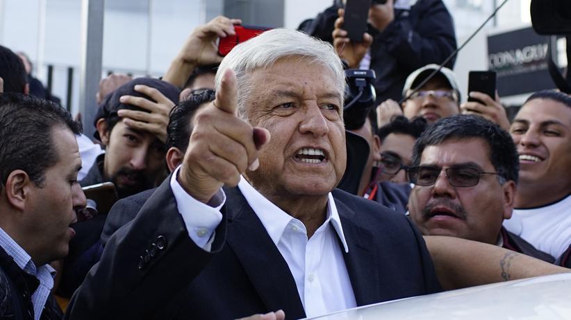 Andrés Manuel López Obrador: Linksnationalist gewinnt Präsidentschaftswahl in Mexiko