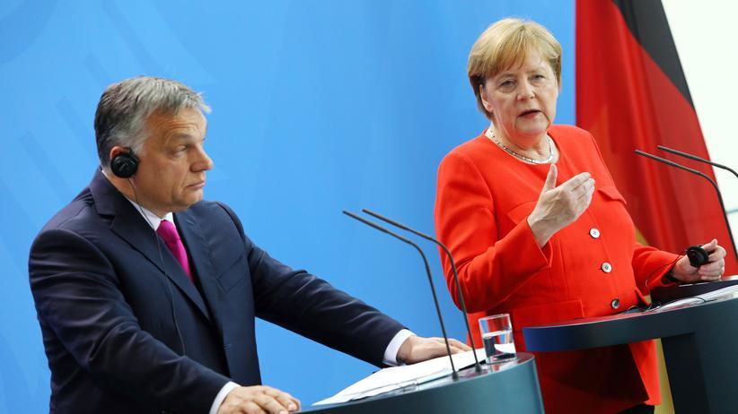 Besuch in Berlin: Viktor Orbán will keine Asylbewerber in Ungarn aufnehmen