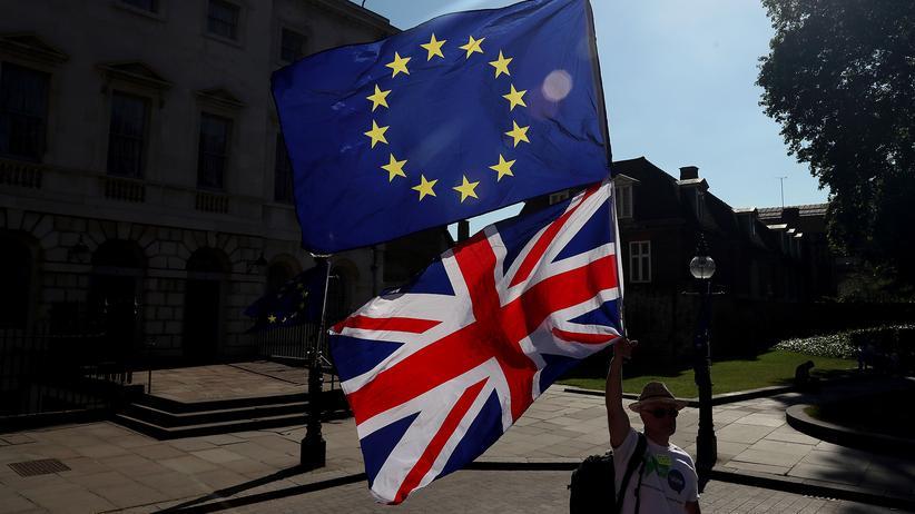 EU-Austritt: Demonstration gegen den Brexit