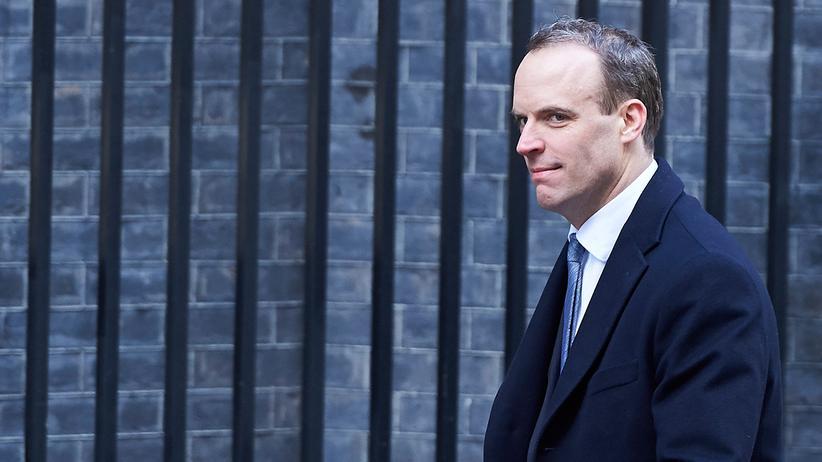 Großbritannien: Dominic Raab