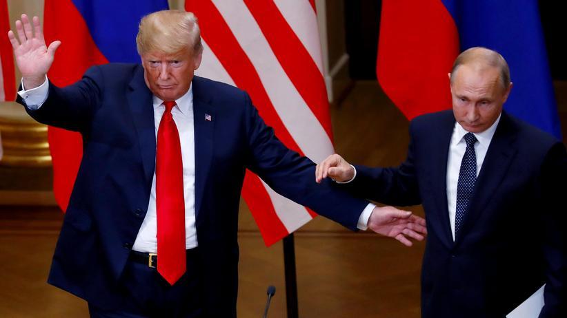 USA und Russland: Donald Trump lädt Wladimir Putin nach Washington ein