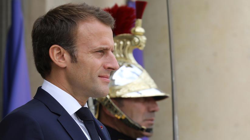 Frankreich: Emmanuel Macron in Paris