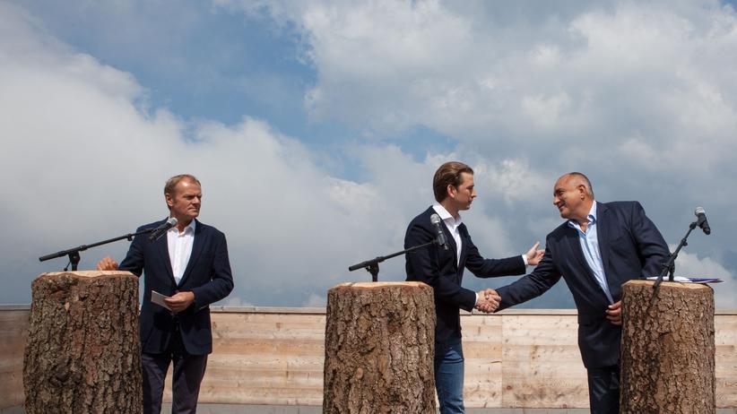 """EU-Ratspräsidentschaft: Österreich will """"Brückenbauer"""" in Europa werden"""