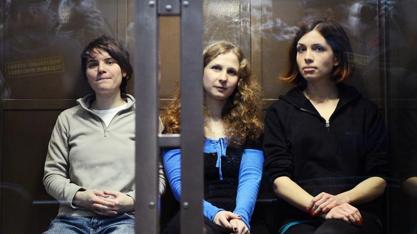 Europäischer Gerichtshof für Menschenrechte: Russland muss Pussy Riot Entschädigung zahlen