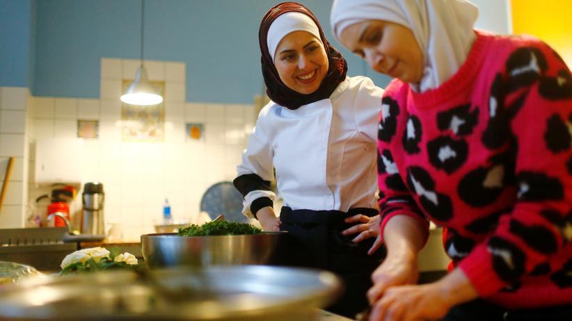 Familiennachzug: Für syrische Flüchtlinge in Berlin. Ab August wird es für sie leichter, ihre Familien nach Deutschland zu holen.