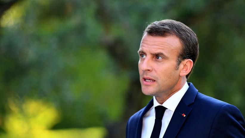 Flüchtlinge: Der französische Präsident Emmanuel Macron