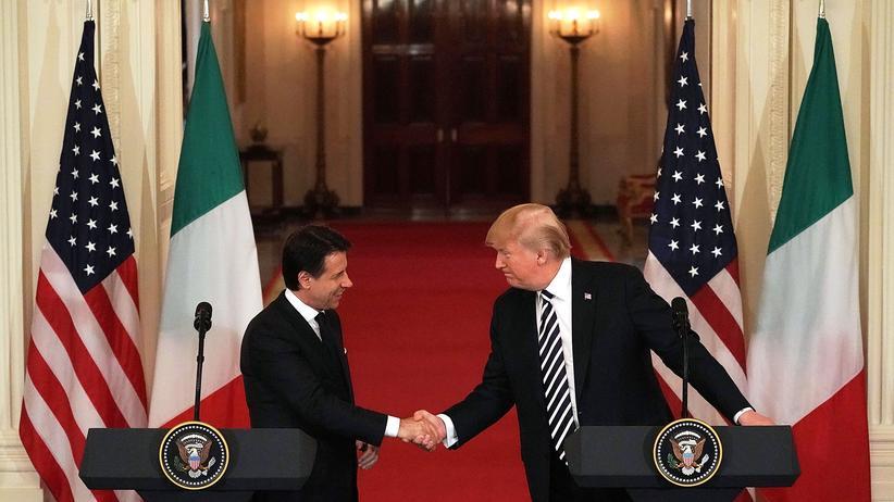 Grenzsicherung: Donald Trump lobt Italiens strikte Einwanderungspolitik