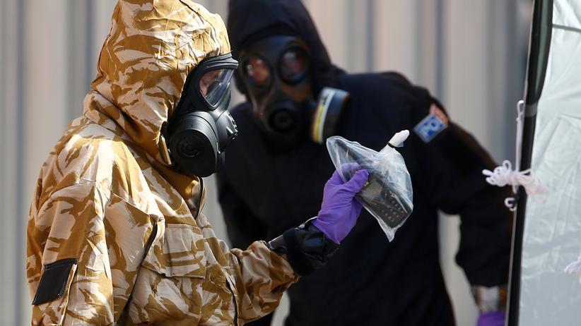 Großbritannien: Polizei findet Nowitschok-Quelle