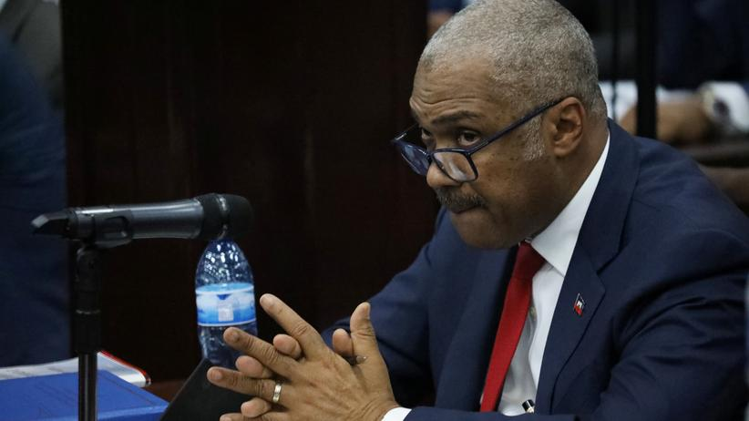 Der haitianische Premierminister Jack Guy Lafontant