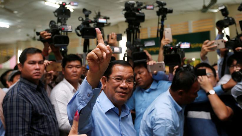 Kambodscha: Regierungspartei gewinnt Parlamentswahlen in Kambodscha