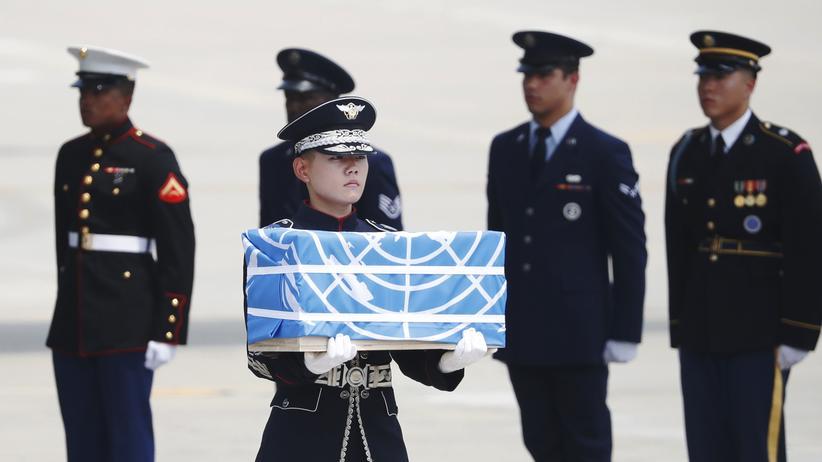 Koreakonflikt: Nordkorea übergibt Gebeine gefallener US-Soldaten
