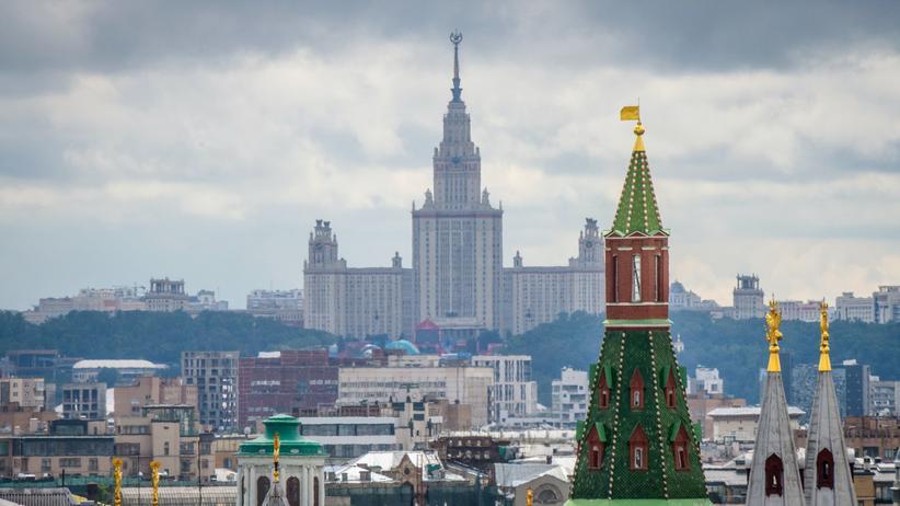 Maria B.: Der Kreml in Moskau, Sitz der russischen Regierung