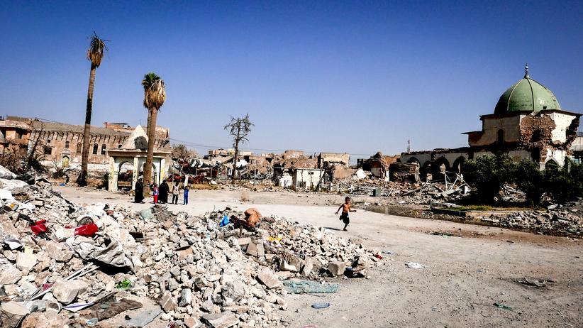 Mossul: Sie können den Tod noch riechen