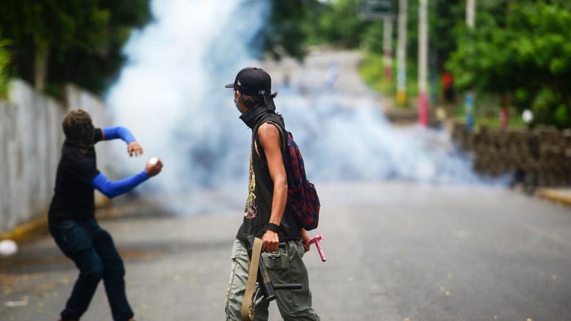 Proteste: Polizei in Nicaragua nimmt Stadtteil von Regierungsgegnern ein