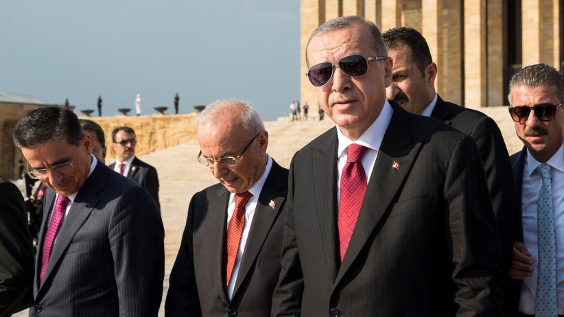 Recep Tayyip Erdoğan: Recep Tayyip Erdoğan ist auf dem Höhepunkt seiner Macht.