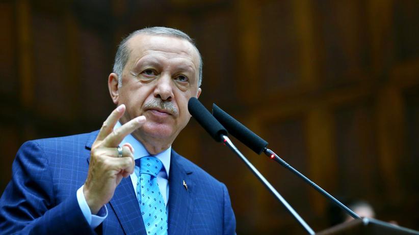 Nationalstaatgesetz: Recep Tayyip Erdoğan wirft Israel Faschismus vor