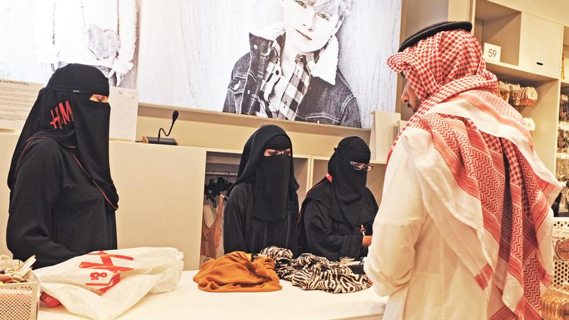 Saudi-Arabien: Saudische Verkäuferinnen in Riad