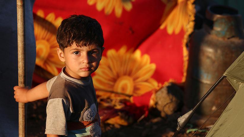 Syrien: Ein Junge aus der Provinz Daraa auf der Flucht