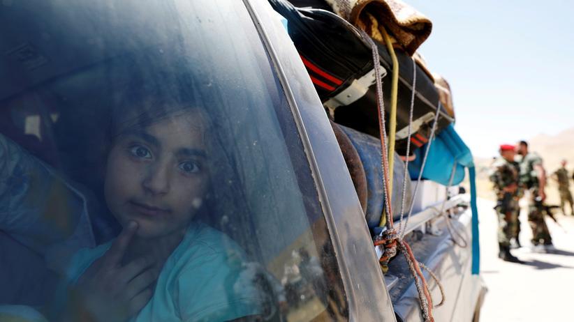 Libanon: Bereits Ende Juni war eine erste Gruppe von 370 Flüchtlingen aus Arsal nach Syrien zurückgekehrt.
