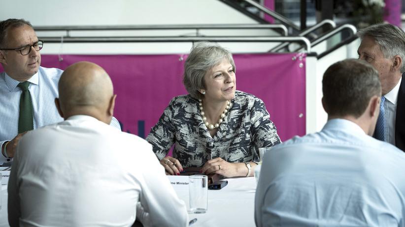 EU-Austritt: Die britische Premierministerin Theresa May will den Brexit künftig selbst verhandeln.