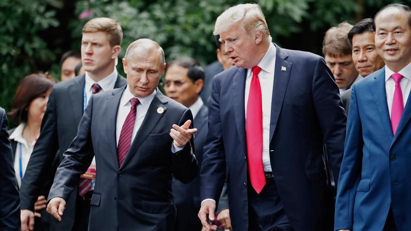 USA-Russland-Gipfel: Allein mit Wladimir Putin