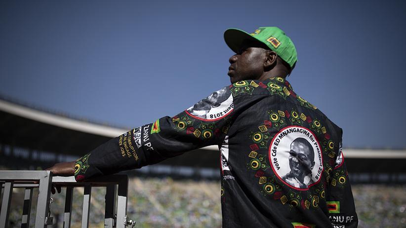 Wahl in Simbabwe: Und Despot Mugabe steht nicht mehr auf dem Wahlzettel