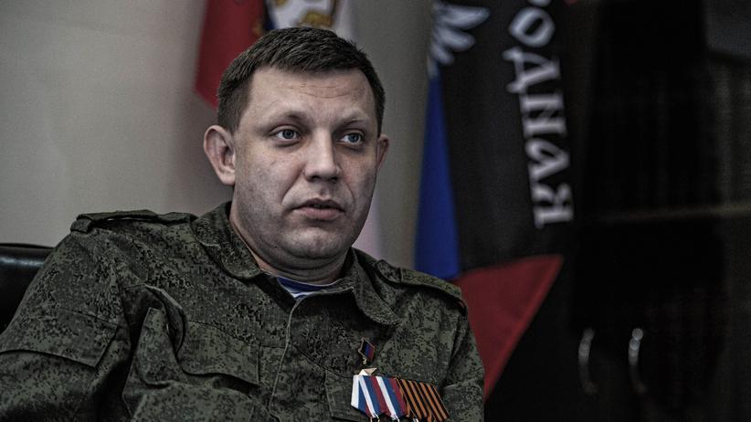 Alexander Sachartschenko: Ostukrainische Rebellen melden Tod ihres Anführers