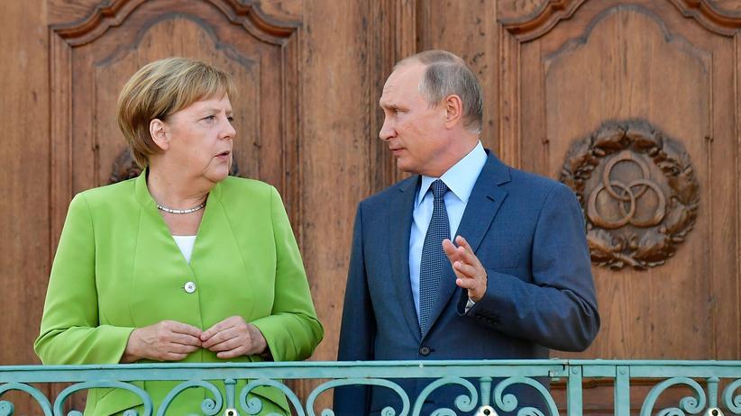 Angela Merkel und Wladimir Putin: Konflikte auf Wiedervorlage