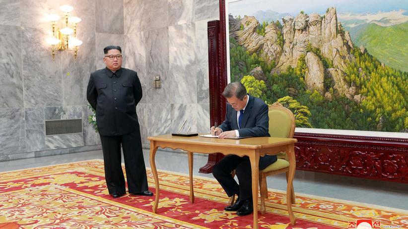 Beziehungen zu Nordkorea: Südkorea stellt 850 Millionen Euro für innerkoreanischen Ausbau bereit