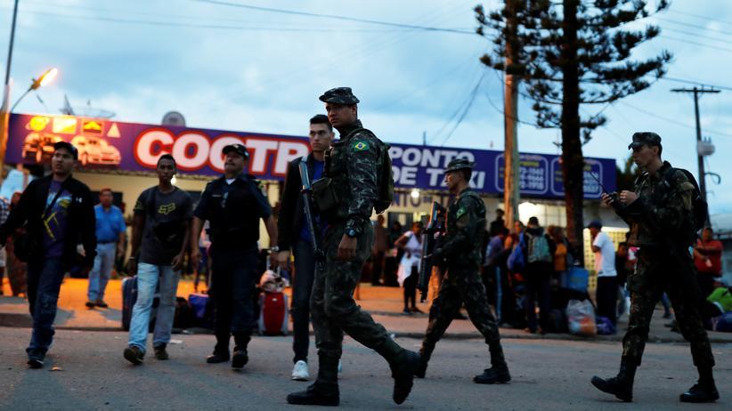 Migrationskrise: Brasilien entsendet Soldaten an venezolanische Grenze