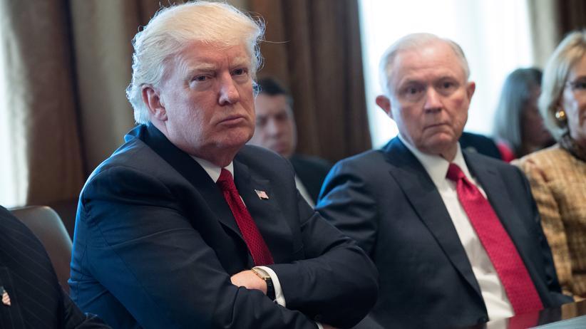 US-Wahl 2016: Trump fordert von Justizminister Ende der Russland-Ermittlungen