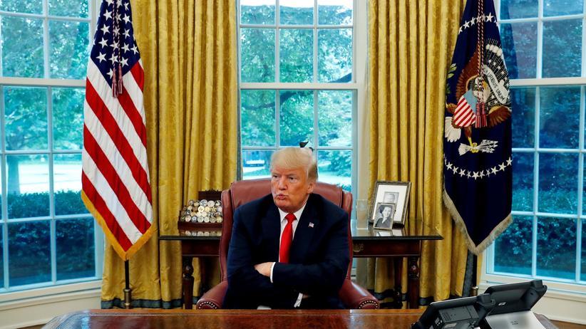Donald Trump: Ein Moment moralischer Klarheit
