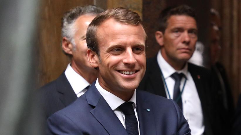 """Emmanuel Macron: """"Wenn sie in mir ihren Hauptgegner sehen wollten, haben sie recht"""""""