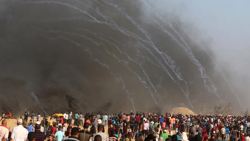 Gazastreifen: Palästinenser bei Auseinandersetzungen getötet